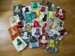 Handmade Crochet top Kitchen Hanging Hand Towels You Choose