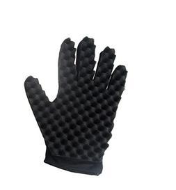 SUJING Curl Hair Sponge Gloves, Wave Twist Brush Gloves Styl