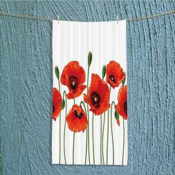 Custom Cotton Microfiber Ultra Soft Towels/Hand Towel,Flora
