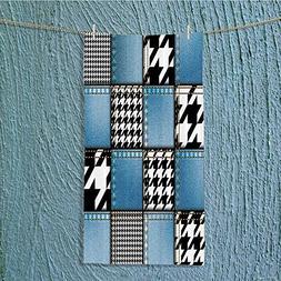 Custom Cotton Microfiber Ultra Soft Towels/Hand Towel,Tree u