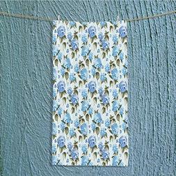 Custom Cotton Microfiber Ultra Soft Towels/Hand Towel,Floral