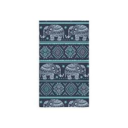 Custom Custom Vintage Indian Elephant Towel Hand Towel Bath