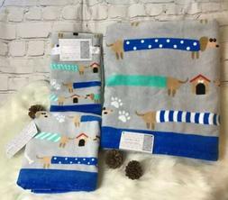 Dachshund dog 🐶Bath Towel set Of 4. Bath ,Hand Towel & 2