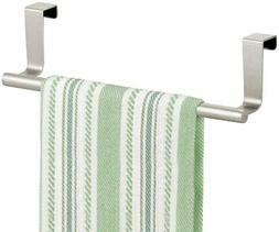 mDesign Decorative Kitchen Over Cabinet Towel Bar - Hang on