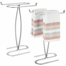 MDesign Decorative Modern Metal Fingertip, Hand Towel Holder