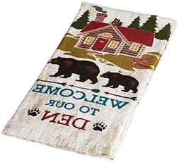 Kay Dee Designs R3000 Welcome To The Den Bear Terry Towel