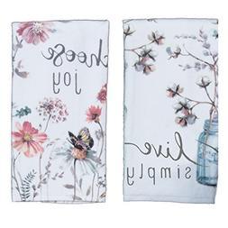 Kay Dee Designs Kitchen Towel Set  - Choose Joy and Live Sim
