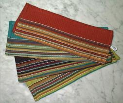 "Mango Home Dish Cloths/Hand Towels 13""x13"" Cotton Colorful T"