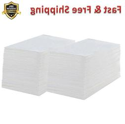 Disposable Guest Towels 200 Pack Linen Feel Hand Napkins for