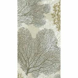 - Disposable Folded Bathroom Hand Towel, Sea Fans Paper, Pac