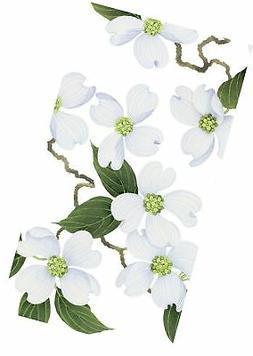 disposable folded bathroom hand towel white blossom