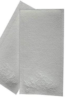 MOCKO Disposable Hand Napkins: 100 Absorbent Air-Laid Paper