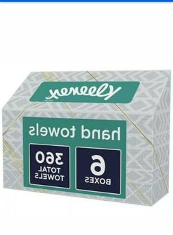 Kleenex Disposable Hand Towels - 6 Boxes - 360 Count Total #