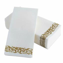 Disposable Hand Towels  Decorative Bathroom Napkins Soft 100