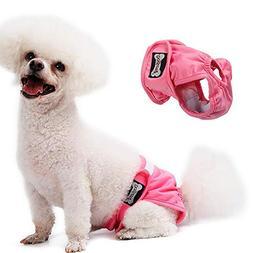 Dog Diapers Female, Reusable Washable Comfortable Sanitary P