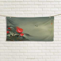 Chaneyhouse Dragonfly,Hand Towel,Traditional Japanese Painti
