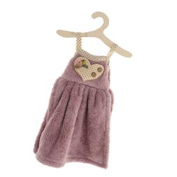 Dress Shape Hand Towel Quick Dry Washing Towel Hanging with