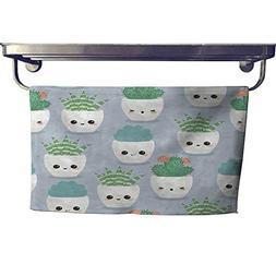 dry fast towel succulents seamless wallpaper towel