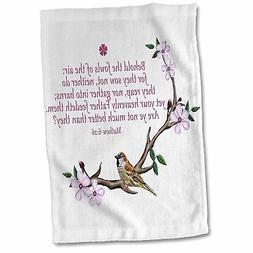 East Urban Home Duran Bible Quote Mathew Tea Towel