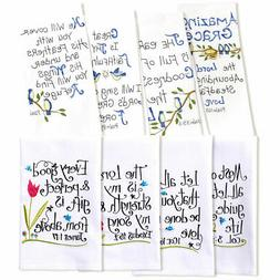 Easter Gift Idea - Psalms Hand Towels And Verses Hand Towels