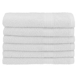 Superior Eco-Friendly 100% Ringspun Cotton, 6 Piece Hand Tow