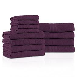Superior Eco-Friendly 100% Ring-Spun Cotton, 12-Piece Bathro