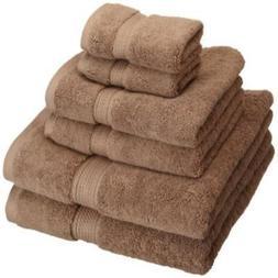 Superior 900 Gram Egyptian Cotton 6-Piece Towel Set Latte So