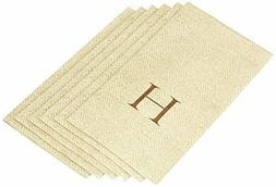 Entertaining with Caspari Jute Herringbone Paper Linen Guest