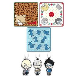 Everyone's lottery Yuri !!! on ICE F Prize hand towel all th