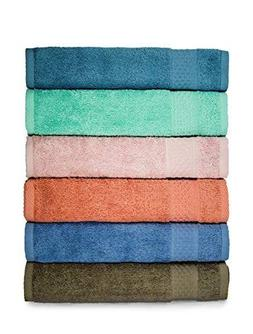 Cleanbear Face-Cloth Washcloths Set,100% Cotton, High Absorb