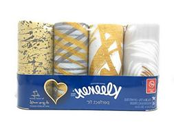 Kleenex Facial Tissues Perfect Fit Package of 4 Decorator De