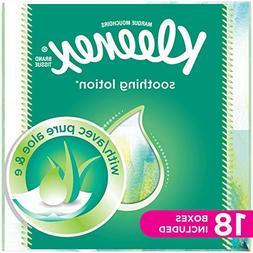 Kleenex Lotion Facial Tissues with Aloe & Vitamin E, Cube Ti