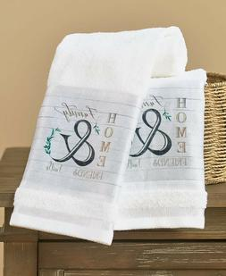 Farmhouse Bath Hand Towels Country Friends Faith Family Home