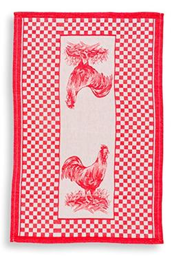 TheLinenBazaar Fine Quality Woven Kitchen Towels Dish Cloth