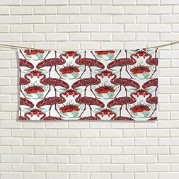 Chaneyhouse Flamingo fancy hand towels Artistic Bird Figures