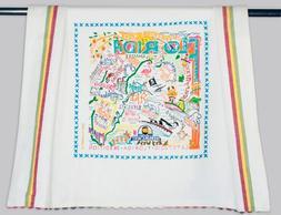 Catstudio Florida Dish Towel, Tea Towel or Bar Towel | 20 x