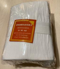 "Utopia Kitchen Flour Sack Towels Cotton Absorbent 28 x 28 """