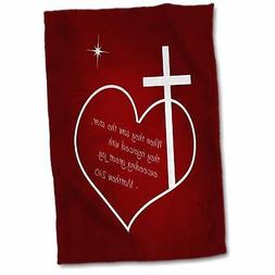 Fowler Cross, Heart, Star, Bible Quote Christian Christmas T