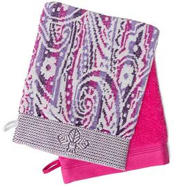 France Luxe Body French-Style Bath Mitt 2-Pack - Fleur Lilac