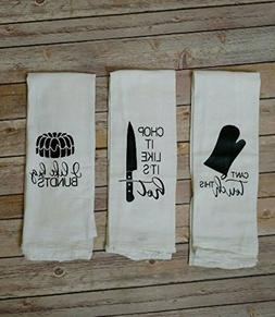 Funny Song Lyric Flour Sack Towels