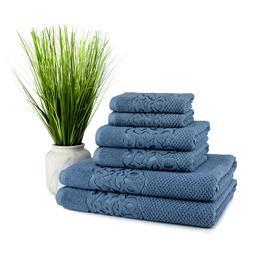 Galata Turkish Cotton Towel 6 pcs Set