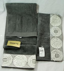 galaxy embellished hand towel and washcloth set