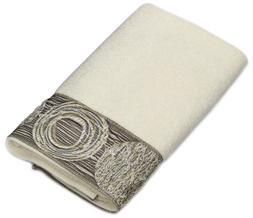 Avanti Linens Chevron Galaxy Hand Medium White