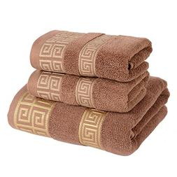 Generic Cotton Bath Towel Set -3 Piece includes 1 Bath Towel