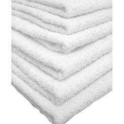"Globe House Products GHP 60-Pcs 16""x26"" 100% Cotton White Ab"