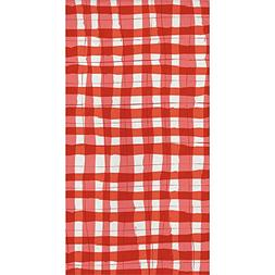 Elise Gingham Guest Towels 4th of July Clambake Picnic Beach