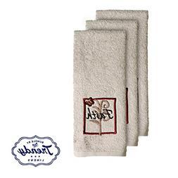 Grace Hand Towels - Bathroom Shower Collection - Set of 3 Ha