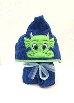 Green Dragon Hooded Bath Towel - Baby, child, teen