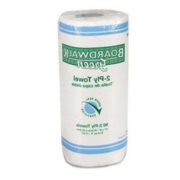 BWK21GREEN - Boardwalk Green Household Roll Towels