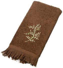 Avanti Linens Greenwood Fingertip Towel, Mocha